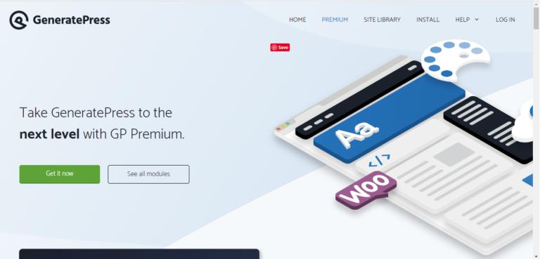 GeneratePress Premium v1.11.0 alpha.5 [2020