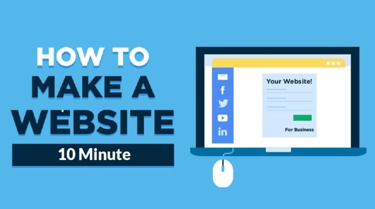 How To Make a New Website in 10 mins - Simple & Easy [2020]