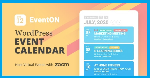 EventON v2.9.1 Plugin With All Addons Free Download [2020]