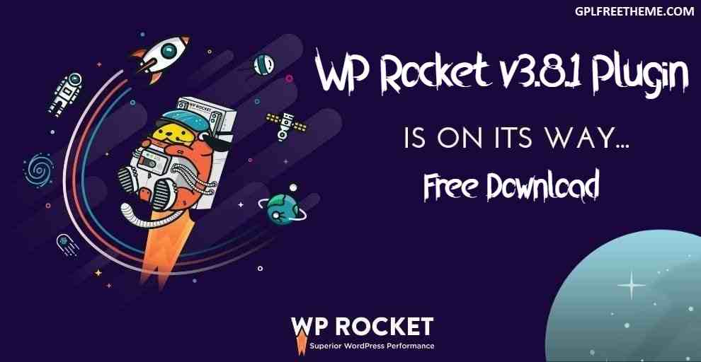WP Rocket v3.8.1 Plugin Free Download