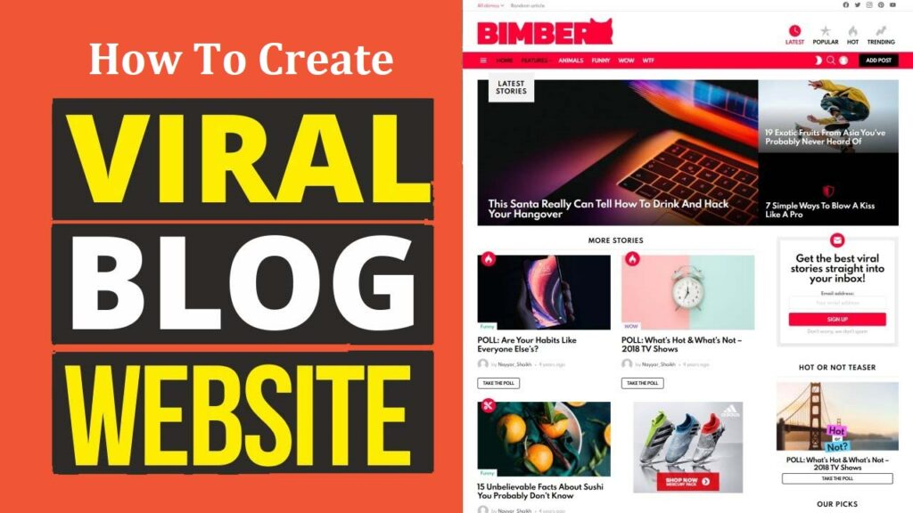 Bimber v8.6.1 WordPress Theme Free Download