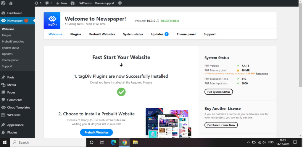 Newspaper 10.3.9.1 - WordPress Theme Free Download [Activated]