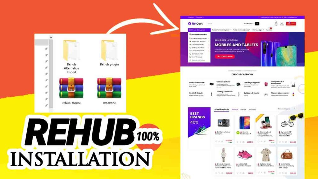 REHub v13.6.1 WordPress Theme Free Download [Activated]
