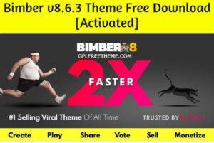 Bimber v8.6.3 WordPress Theme Free Download