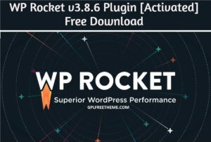 WP Rocket v3.8.6 - Plugin Latest Version Free Download [Activated]