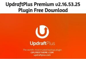 UpdraftPlus Premium v2.16.53.25 - Free Download