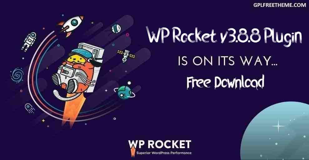 WP Rocket v3.8.8 - Plugin Free Download [Activated]