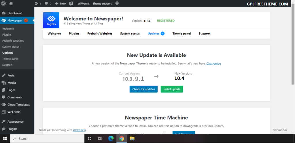 Newspaper 10.4 - WordPress Theme Free Download [Activated]