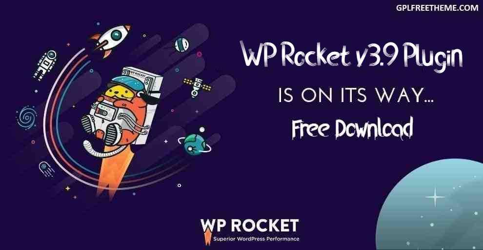 WP Rocket v3.9 - Plugin Free Download [Activated]