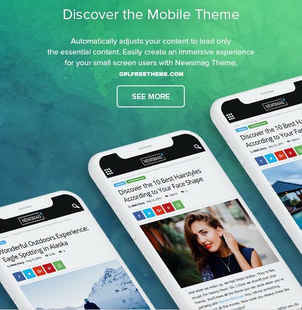 Newsmag v4.9.6 - WordPress Theme Free Download [Activated]