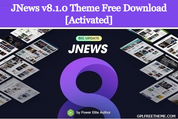JNews v8.1.0 Theme Free Download [Activated]