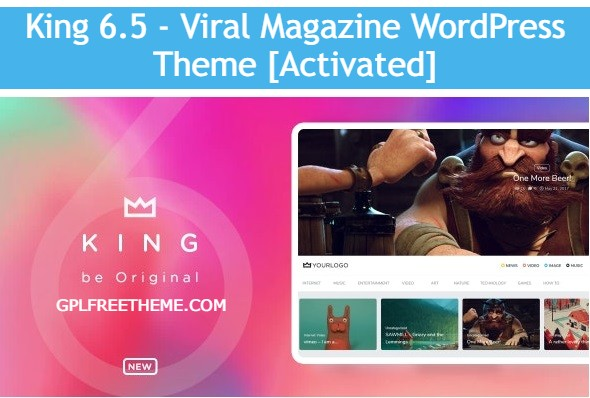 King 6.5 - Viral Magazine WordPress Theme [Activated]