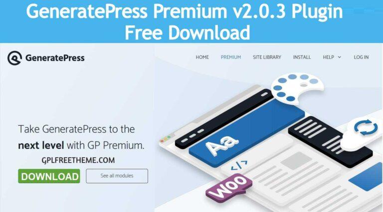 GP Premium v2.0.3 Plugin Free Download [Activated]