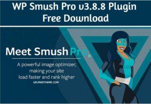 WP Smush Pro v3.8.8 Plugin Free Download