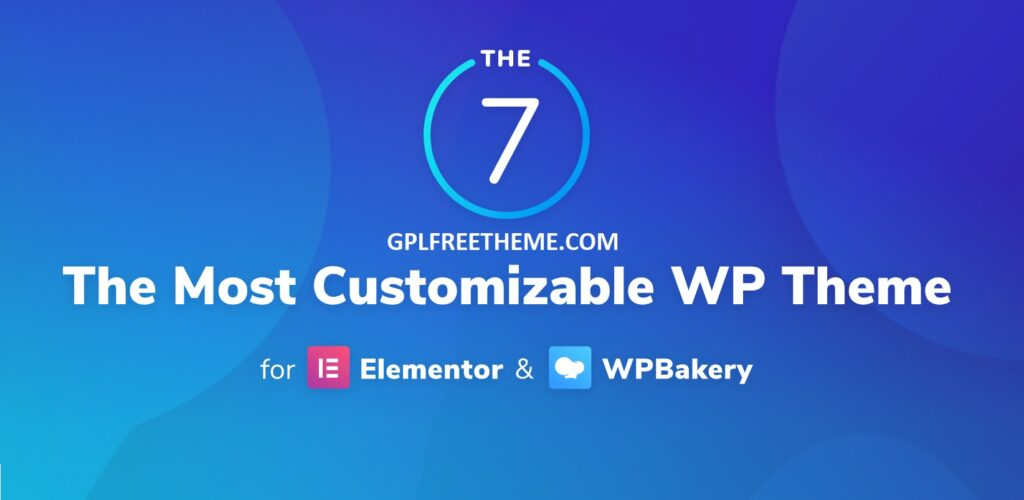 The7 v9.16.0 - Website and eCommerce Builder Free Download [Activated]